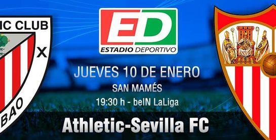 Athletic-Sevilla F.C.: Primera función para domar a los leones
