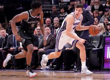 112-102. Hield y los triples deciden triunfo de Kings ante los Pistons