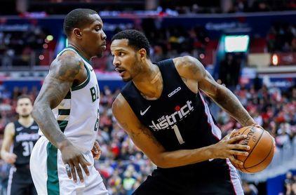 113-106. Beal y los Wizards derrotan a los líderes Bucks