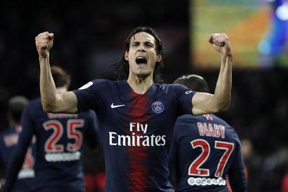 Cavani y Mbappe dirigen el triunfo del París Saint Germain sin Neymar