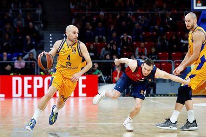 Marcelinho Huertas, Baskonia, el mejor (MVP) de la jornada
