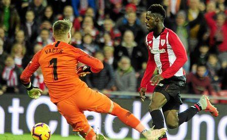 Athletic 2-0 Sevilla F. C.: Superado en su carrera por la zona noble