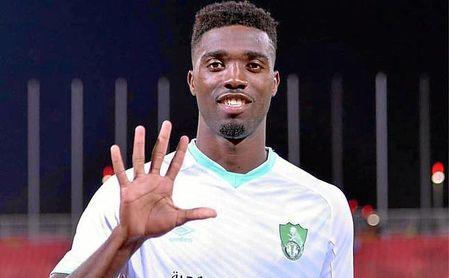 Djaniny marcó cinco goles en el partido del pasado viernes.