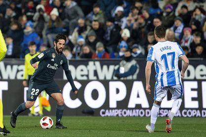 Isco vuelve al once titular y Kravets debuta con el Leganés