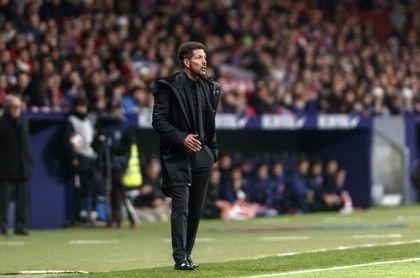 """Simeone: """"Yo prefiero jugar mal y pasar siempre"""""""