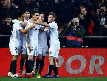 Victoria, derrota y empate en las tres últimas visitas del Valencia al Celta