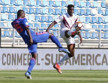 1-0. Samuel Sosa da el triunfo a Venezuela ante Colombia en el duelo inaugural