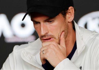 Murray será baja por lesión en el Abierto de Marsella a finales de febrero