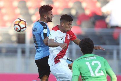 0-1. Perú rentabiliza un penalti para tumbar al vigente campeón Uruguay