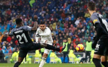 Real Madrid 2-0 Sevilla FC: Devorado por un complejo agravado por Machín