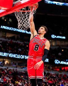 88-104. LaVine aporta 25 puntos y los Bulls rompen una racha de 10 derrotas seguidas