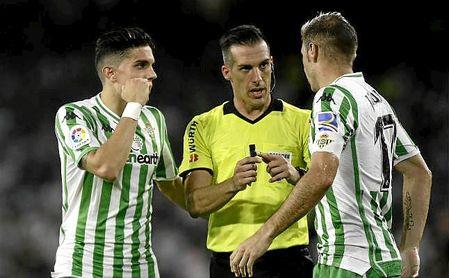Estrada Fernández volverá a arbitrar al Betis en LaLiga.