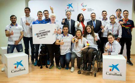 CaixaBank se convierte en nuevo patrocinador del Comité Paralímpico Español.