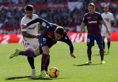 El Levante se convierte en el equipo más goleado de Primera