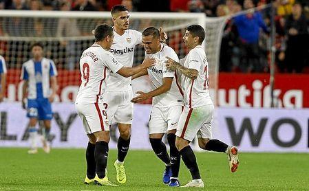 Mercado es muy querido dentro del vestuario del Sevilla FC.