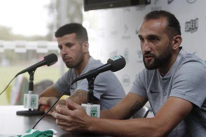 Atlético Nacional presenta a Barcos y Ceppelini como nuevos refuerzos