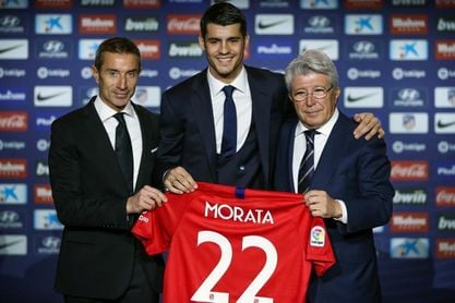 """Morata: """"El destino era que yo estuviera aquí"""""""