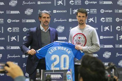 """Erik Morán: """"No tuve minutos en el AEK, pero estoy físicamente perfecto"""""""