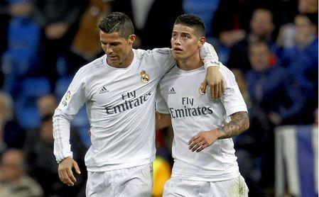 Cristiano Ronaldo quiere a James Rodríguez en su equipo.