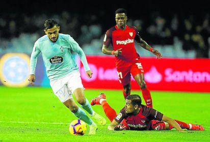 El Sevilla sumó ante el Celta su octava salida liguera consecutiva sin vencer, racha que intentará romper en Villarreal el domingo 17.