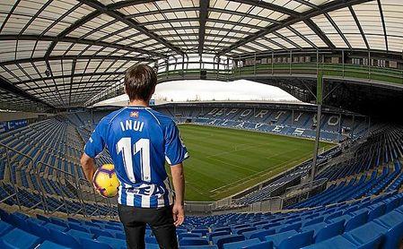 Inui se convierte en el primer jugador asiático que llega al Alavés.