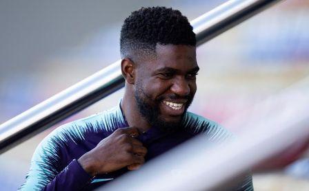 El Barcelona regresa a los entrenamientos con la novedad de Umtiti