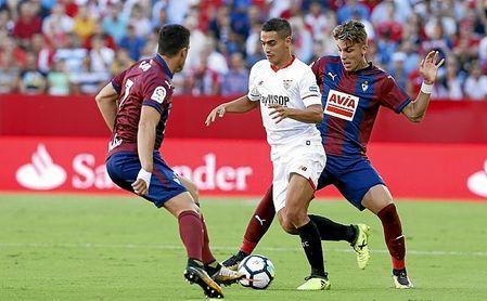 El Eibar destaca por su presión alta y continuada.