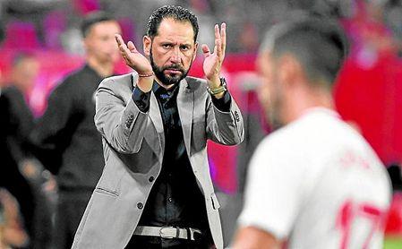 El Sevilla de Machín ha entrado en crisis, pero sigue teniendo cuatro puntos de ventaja.
