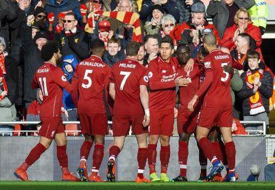 El Liverpool se recupera ante el Bournemouth y vuelve a la senda del triunfo