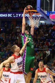 Shermadini (Unicaja) y Sutton (Burgos), los mejores (MVPs) de febrero