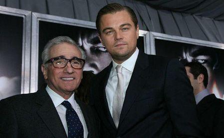 Martin Scorsese (izquierda) y Leonado DiCaprio (derecha)