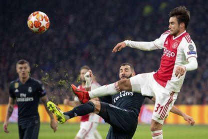 Benzema tiene dolor en la cadera pero no se descarta para Liga