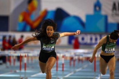 María Vicente bate con 17 años el récord nacional absoluto de pentatlón