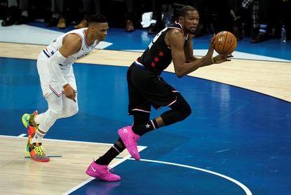 178-164. Durant y Antetokounmpo se cansan de anotar en otro All-Star monótono
