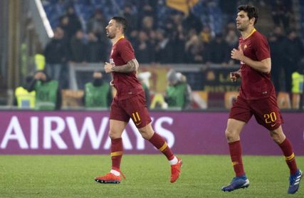 """Kolarov, Fazio y Olsen mantienen al Roma en la pugna por la """"Champions"""""""