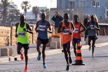El corredor etíope Getachew Demi gana el maratón de Tel Aviv con un tiempo de 2h.14:30