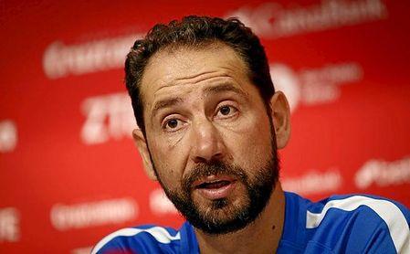 Pablo Machín recordó a Roberto Alés y habló del partido ante el Barcelona.