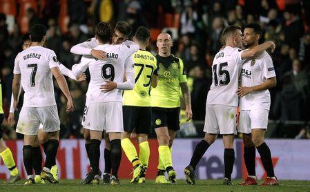 Valencia, Villarreal, Arsenal y Nápoles no fallan