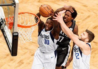 127-88. Carroll lidera la victoria de los Nets ante los Mavericks