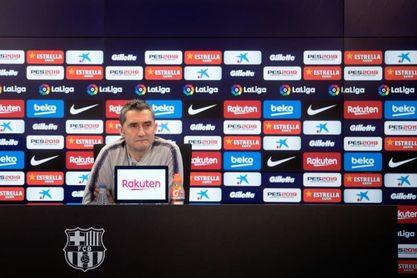 Valverde asume su responsabilidad en la lesión de Dembélé