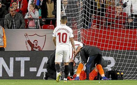 Vaclik se lesionó ante el Slavia en el partido de ida.