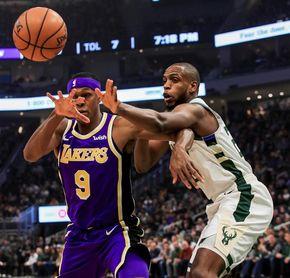 115-101. López y los Bucks juegan sin Antetokounmpo, y los Lakers sin James