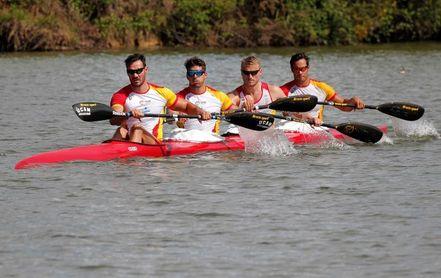 Un regata olímpica de piraguas servirá de prolegómeno al Sporting-Oviedo