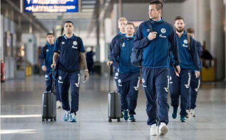 El Schalke ya pone rumbo a Sevilla