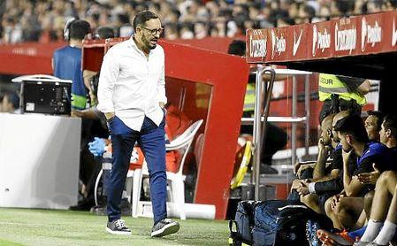 Bordalás, en su visita al Sánchez-Pizjuán, donde ganó por 0-2.