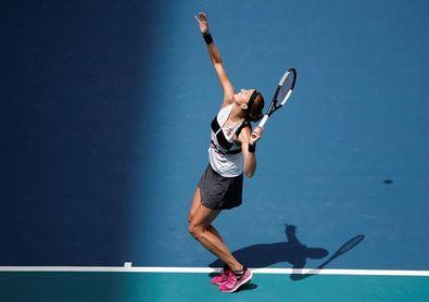 Kvitova vence sin sobresaltos a García y jugará en cuartos contra Barty en Miami