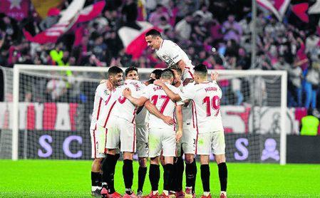 El Sevilla está teniendo un gran índice goleador esta temporada, algo afeado por su fragilidad defensiva.