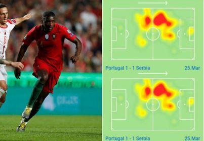 Carvalho es otro con Portugal