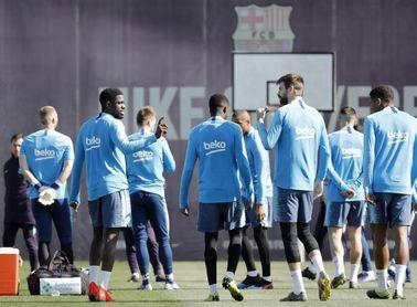 Los internacionales españoles y brasileños se incorporan a los entrenamientos