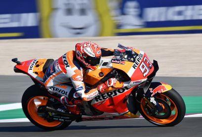 """Márquez, sin polémicas sobre el apéndice, afirma que """"en Qatar un piloto me ganó"""""""
